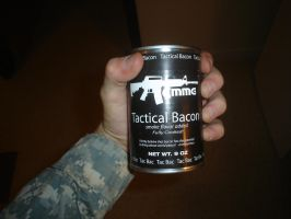 Tactical Bacon by psycho-pigeon