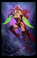 Valeera Sanguinar Blood Elf Cosplay Hearthstone by ApotheosisCosplay