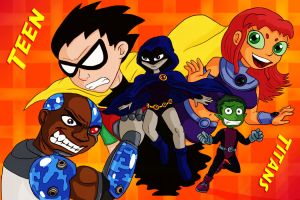Teen Titans by Fadri