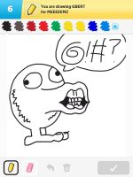Draw Something - Qbert by Kirby-Force