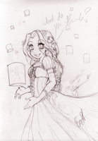 Disney Tangled Rapunzel :D by evaYabai