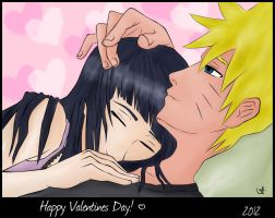 NaruHina - Happy Valentines Day by blargofdoom