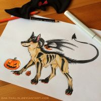Hellhound Design Auction [CLOSED] by Dae-Thalin