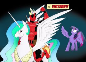 Deadpool's Victory Steed by RyeSye