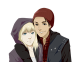 PCM: Lucy and Delsin by Lu-chan11
