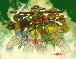TMNT by ZHERODIGITAL