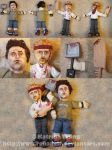 Shaun of the Dead Dolls by RohanElf