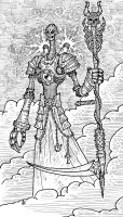 Death tarot by nicop1 by Robot-drawing-club