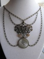 The Clockwork Princess chain by Eisoptrophobic