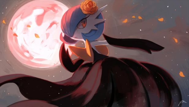 Moonblast by bluekomadori