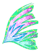 Commission: Zoey's Sirenix Wings by MsKittenCreations