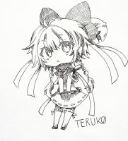 Teruko - chan by blackrainbow2304