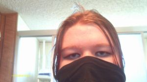 Half of my ugly face. 8D by Jo-Strife-Ish-Evil