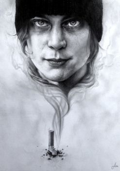 Ville Valo by floratothart