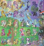 Big 'ol Group Pony Picture by JezebelTart
