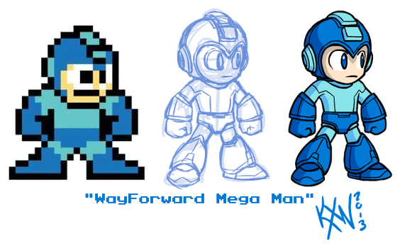 Fungasm Weekly 003 - WayForward Mega Man by kevinxnelms