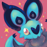 Sparkly Noibat by Bluwiikoon