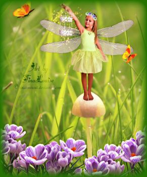 Firefly Fairy by TinaLouiseUk
