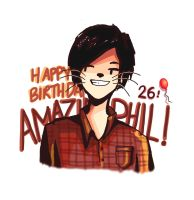 Happy Birthday Amazingphil by Dreamsoffools