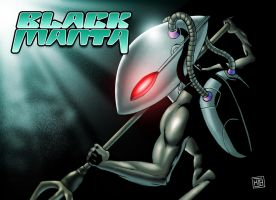 Black Manta - Series III by HectorBarrientos