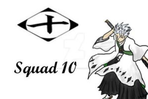 Bleach Squad 10 print by FoxTrotProducts