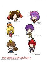 RB chibis part 2 colorized by reginepetrola