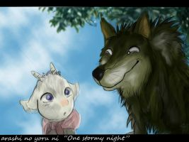 One stormy night by ghostwolfen
