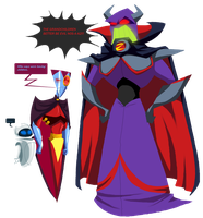 Zurg wants and NOS-4-A2 says no by PurpleRAGE9205