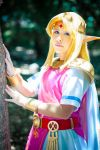 Princess Zelda cosplay from A Link Between Worlds by laahmichelle