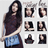 Suzy Bae (Miss A) [PNG PACK] by ByMadHatter