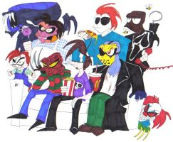 Modern Monster Mash by SpiketheKlown