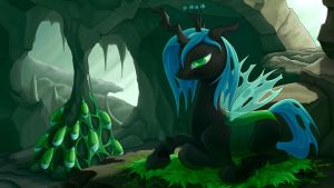 Changeling Queen by Dahtamnay