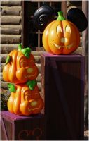 Disney Pumpkins 2 by Cassiopeeh