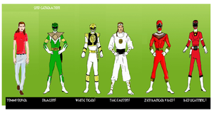 POWER RANGERS DOSSIER: TOMMY OLIVER by LeveyYes