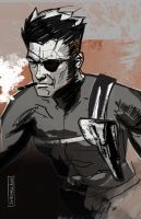 DSC Nick Fury by CartoonCaveman