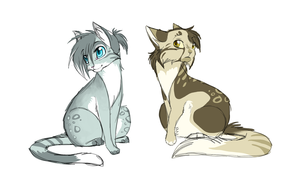 Hypokits Fishy and Misty by ipann