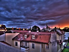HDR Sunset by soffl