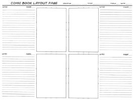 Comic Layout Template by Langesha