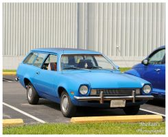 A Blue Ford Pinto Station Wagon by TheMan268