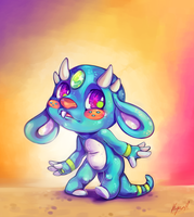 Baby Dragon by CrypticInk