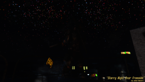 Starry Night Over Freeside by JoshMasters