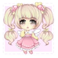 [CLOSED]Adoptable Auction - Little Pink Fairy by lunanightborn