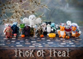 trick or treat by freedragonfly