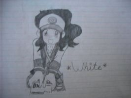 White ~Drawing~ by SapphireRose-chan