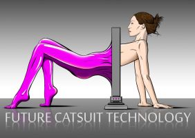 Future catsuit technology by JANEMALL