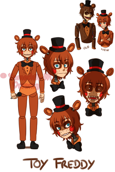 [FNAF2 HUMAN VERSION] Toy Freddy by YumeChii-NI