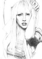 Lady Gaga by Claire-Elise17