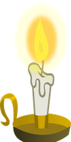 Candle by Vector-Brony