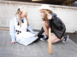 You're in Ruins [Fem!UsUk cosplay] by CallmeAlfiaH