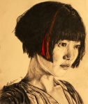 Our Lives are not our own. - Sonmi-451 (Doona Bae) by LucaHennig
